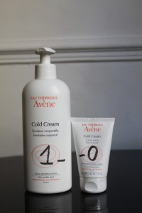 Cold cream. Avène.