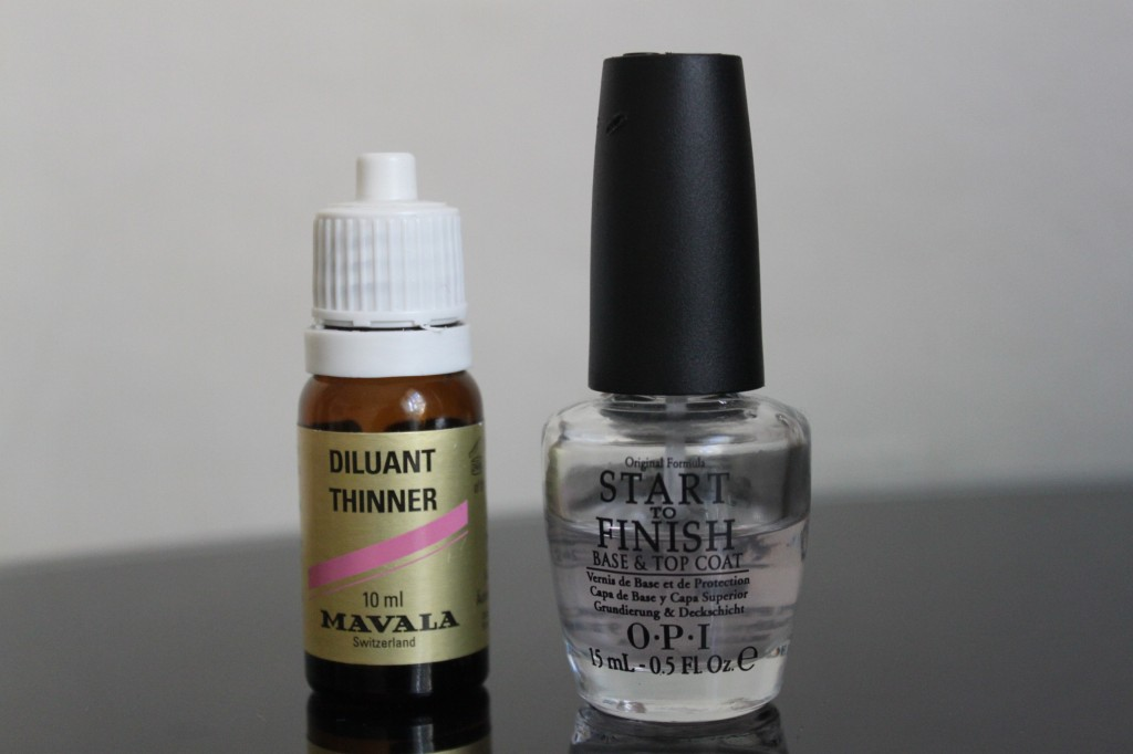 Diluant Mavala/ Start to Finish OPI