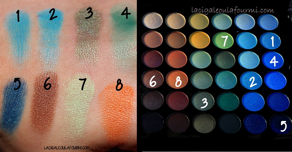 SWATCH palette maquillage Marionnaud