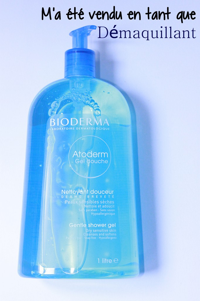gel douche atoderm, bioderma