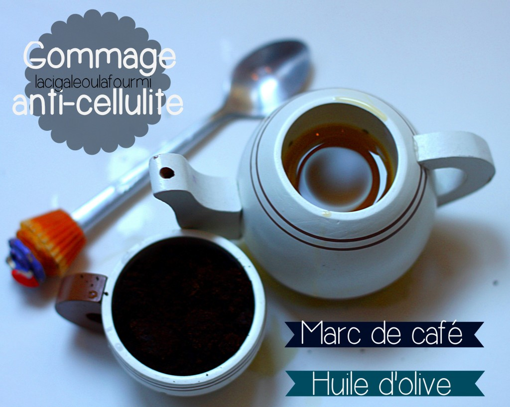 Marc de café, anti-cellulite naturel