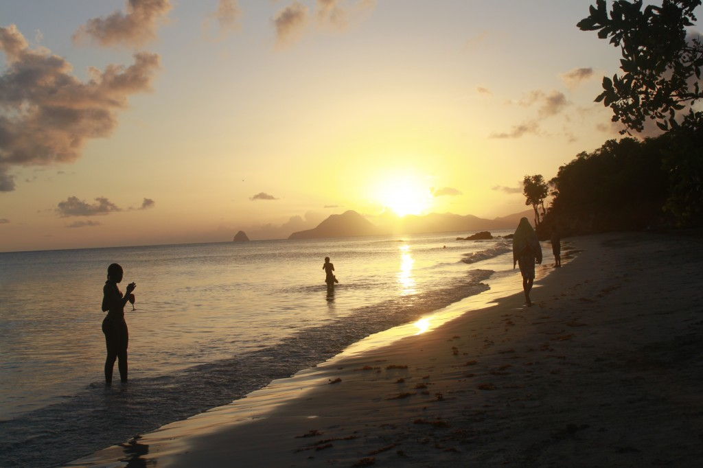 martinique, plage