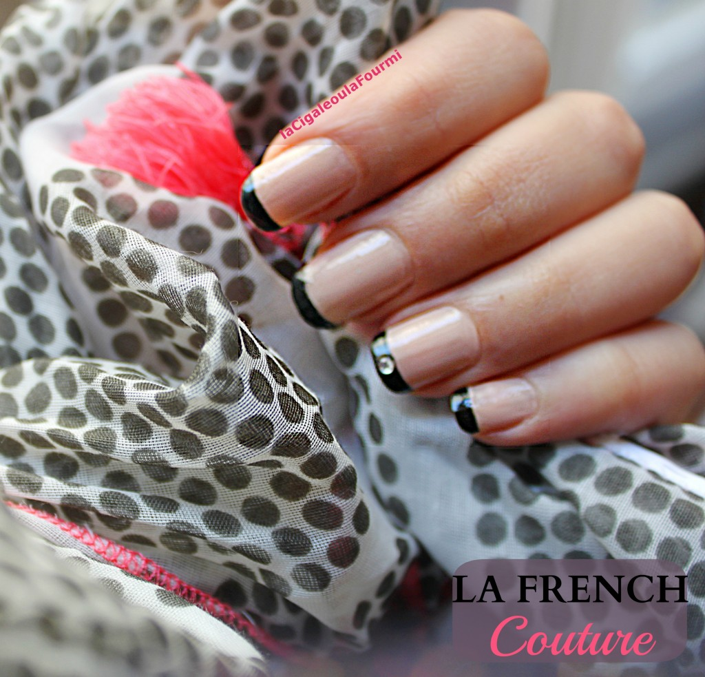 french manucure, nail art, haute couture, opi