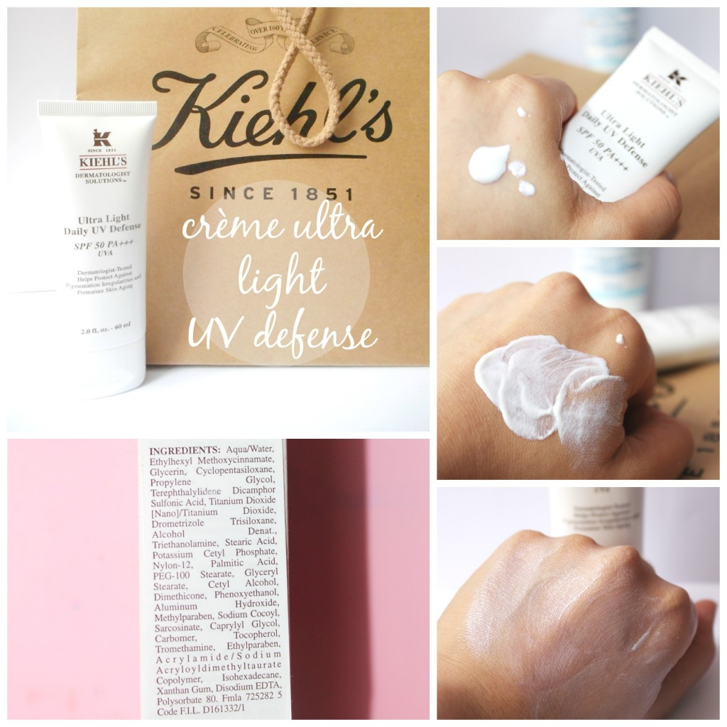 Kiehl's, crème ultra light UV defense
