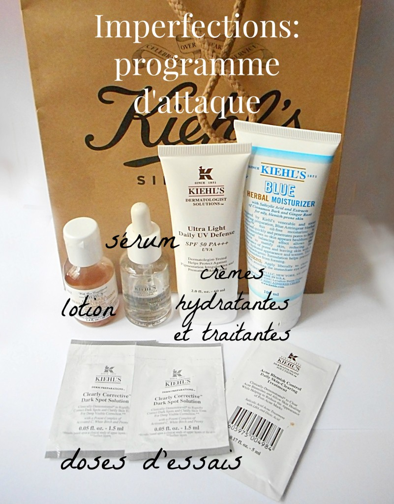 kiehl's, antiblemish program