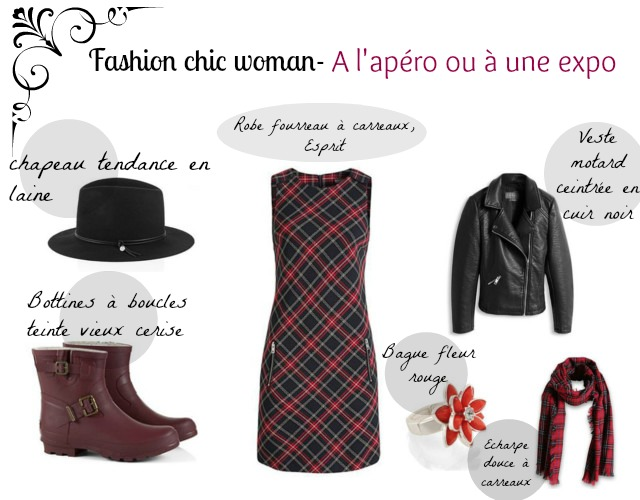 esprit, tenue, robe, fashion, chic, fourreau