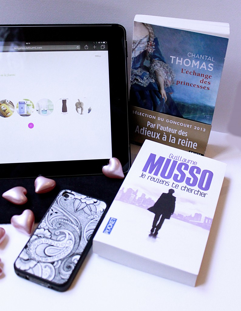 Musso, Chantal Thomas, livres, swap