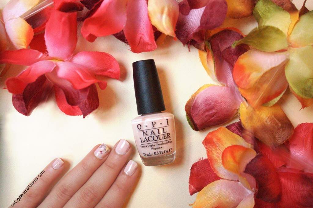 OPI, vernis nude