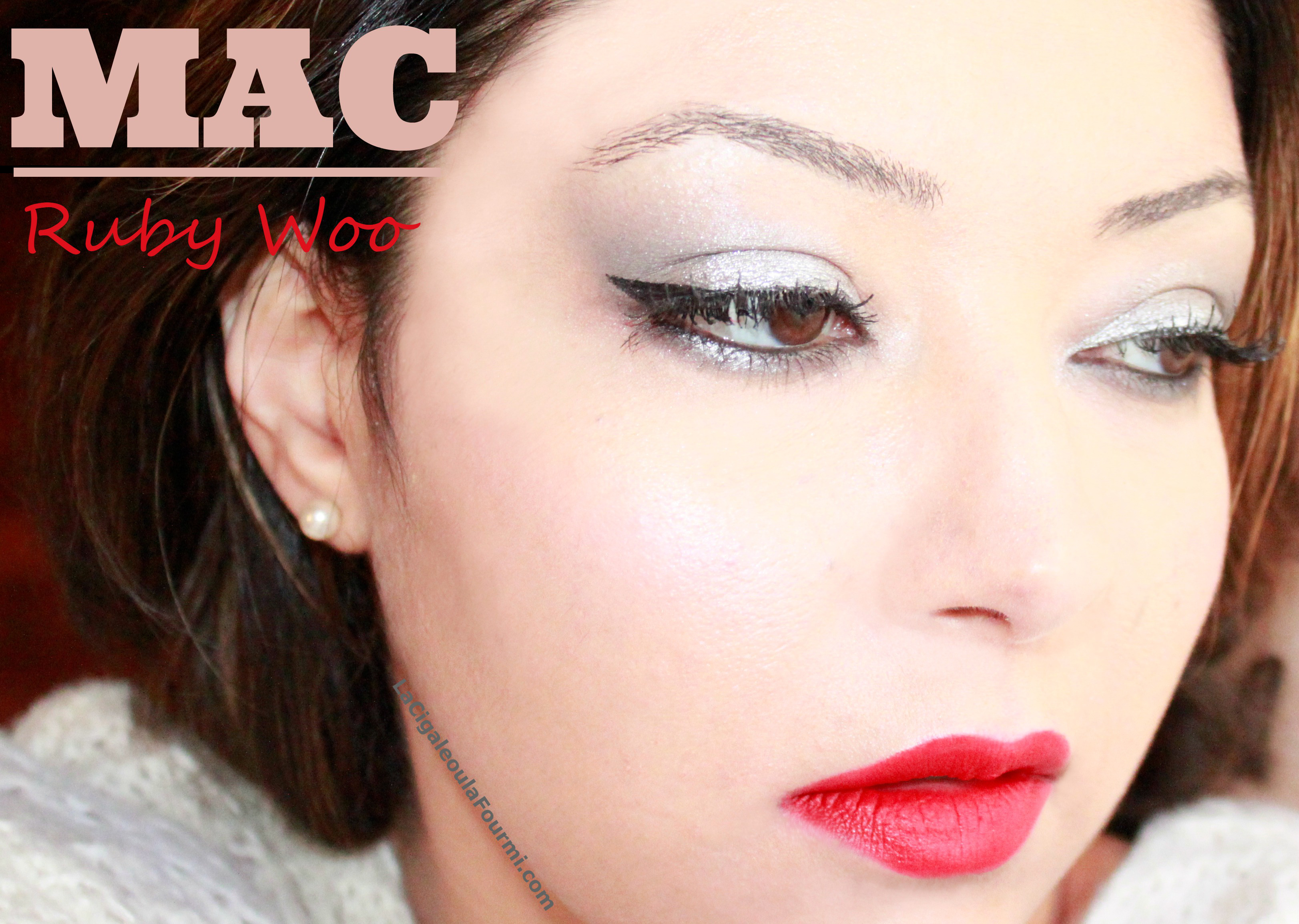 ruby woo, mac, mat
