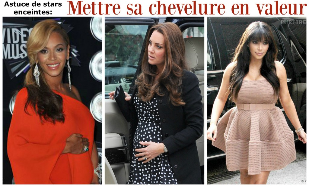 grossesse, cheveux, astuces