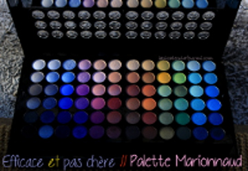 palette marionnaudRed